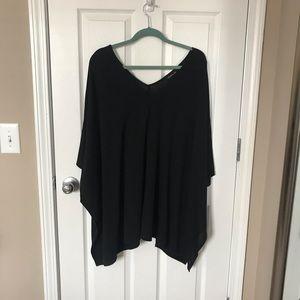 Tops - Women's Black Cape One Size